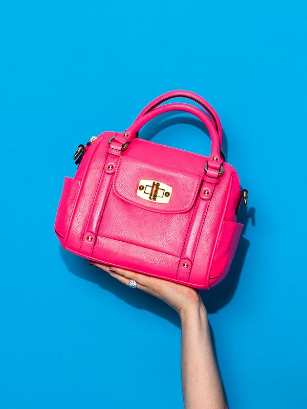 This Hot Pink Merona Handbag Is The Perfect Way To Celebrate Target Style Tote