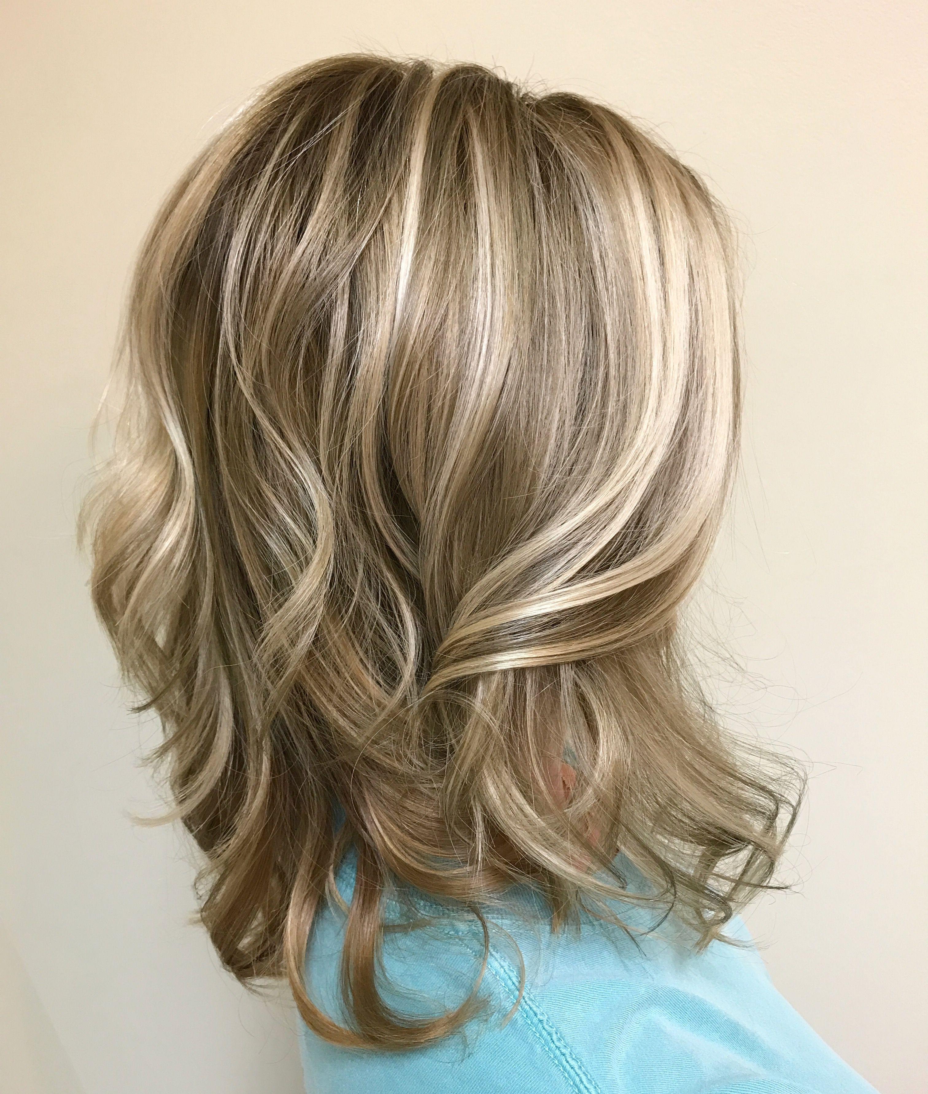 Dimensional blonde balayage for medium length hair   Hair styles, Blonde balayage, Medium length ...
