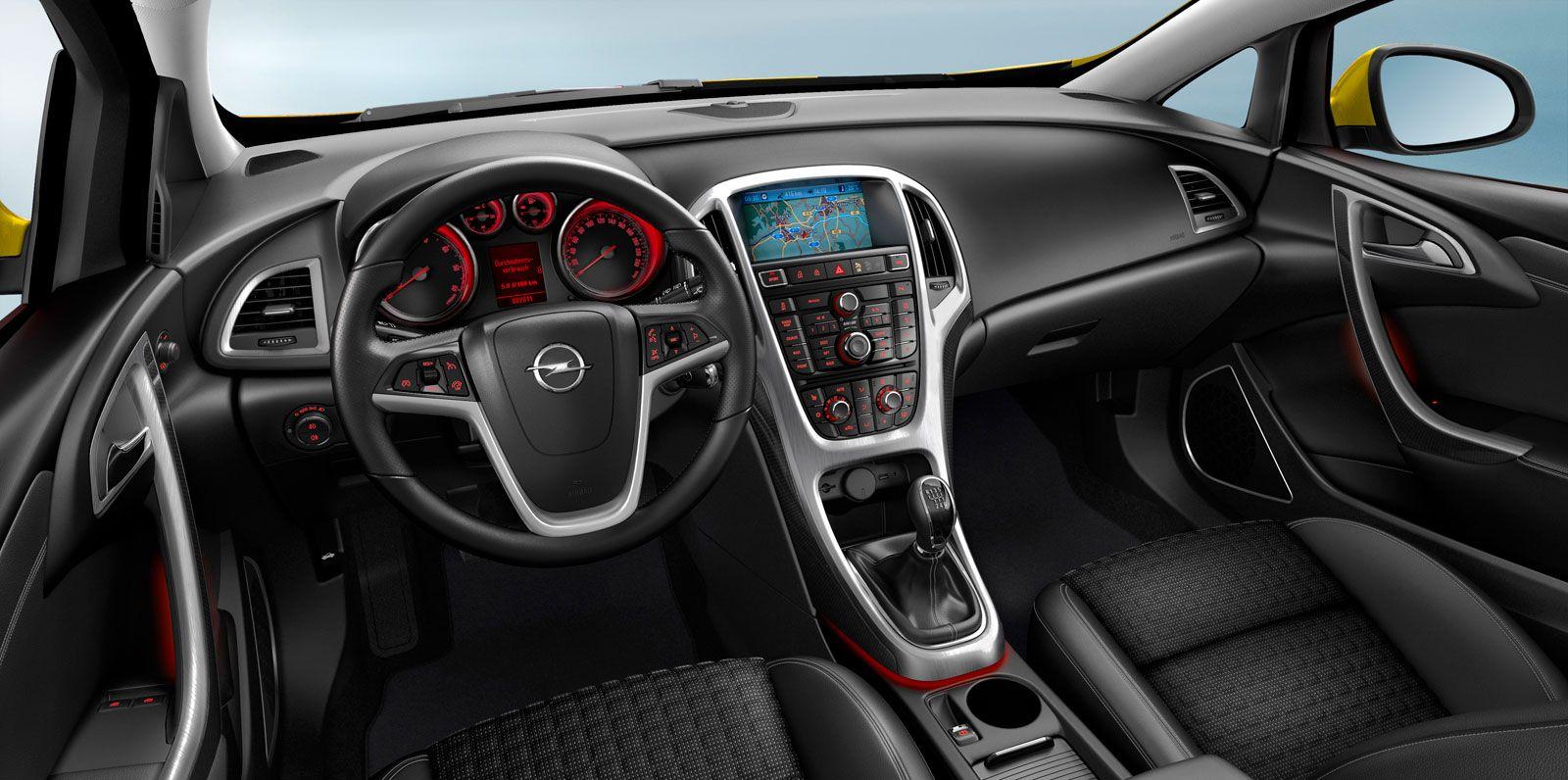 Opel Astra GTC - Interior | Auto | Pinterest