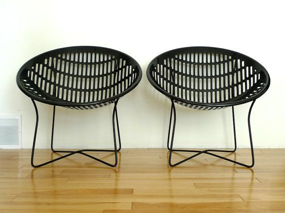 Hey, I Found This Really Awesome Etsy Listing At  Http://www.etsy.com/listing/122606750/vintage Black Solair Chairs  Mid Century