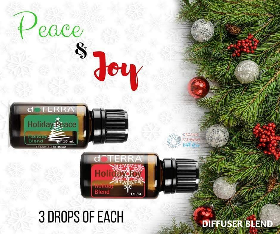 Fill your home with peace and joy this holiday season! This combination is delightfully sweet and wonderfully grounding. Definitely my favorite diffuser blend so far. #essentialoils #diffuserblend #winterdiffuserblends