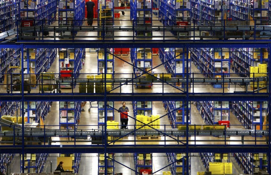 Warehouse Shelving Accretion Inventory By The Pallet Create Rows To Organize Your Warehouse And Add Up Fulfillm Warehouse Shelving Warehouse Plan Warehouse