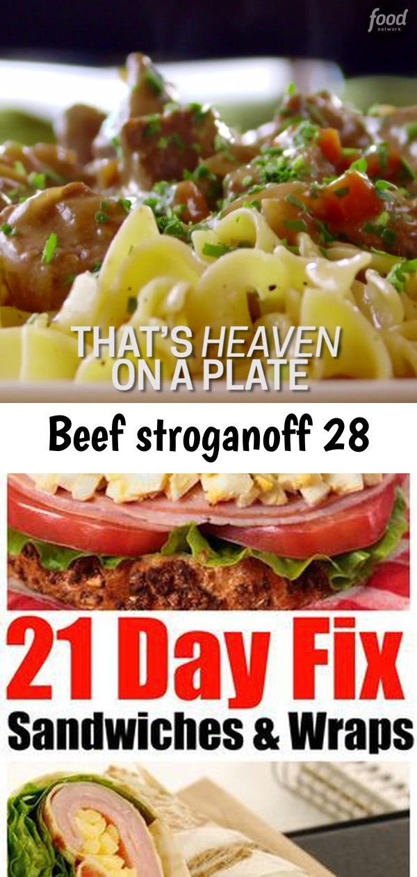 Beef stroganoff 28 Ree puts her own spin on the ultimate comfort food  Beef Stroganoff 21 Day Fix sandwiches and wraps  Forget Takeout Eat Easy and Delicious 21Day Fix Sa...
