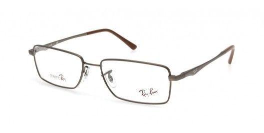 e9eb8067a50 New ray ban memo ray metal brwon mens rx eyeglasses rb 7517 1007 54 ...