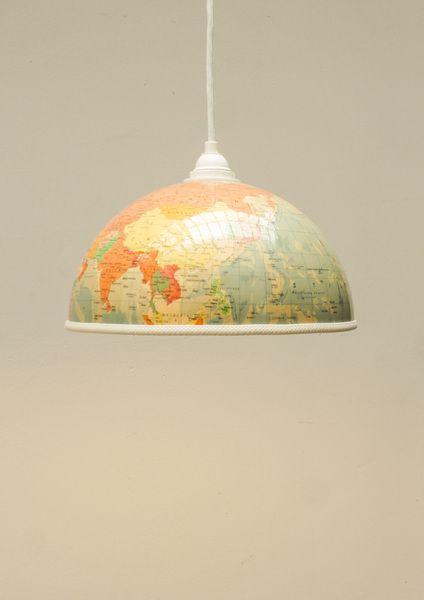 Wohin In Den Urlaub Antworten Liefert Dieser Schmucke Lampenschirm