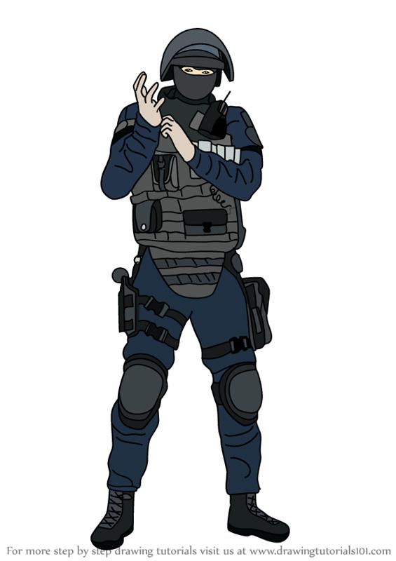 How To Draw Doc From Rainbow Six Siege Rainbow Six Siege Art