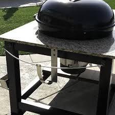 Image Result For Weber Lid Holder Bbq Table Grill Table Weber
