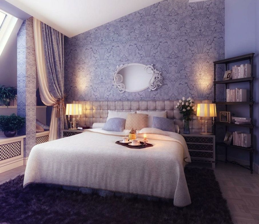 Romantic Bedroom Design Ideas With Simple Majestic And