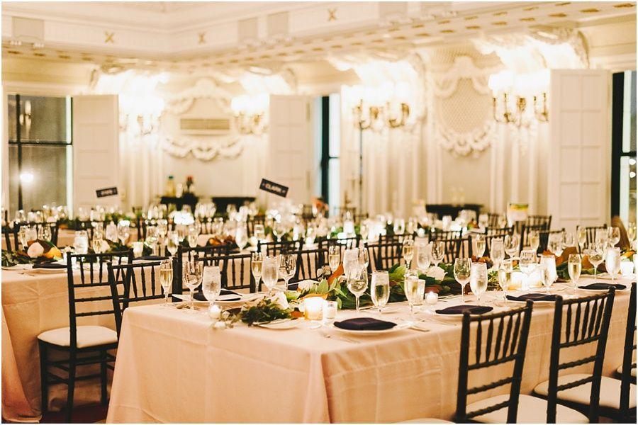A Fall Wedding At The Blackstone Hotel
