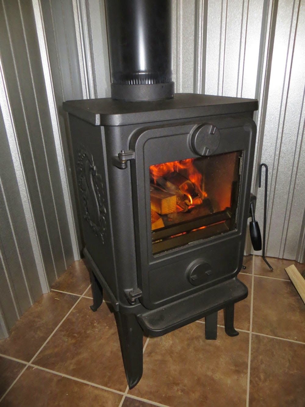 Morso 1410 Wood Stove Install First Impressions Wood Stove