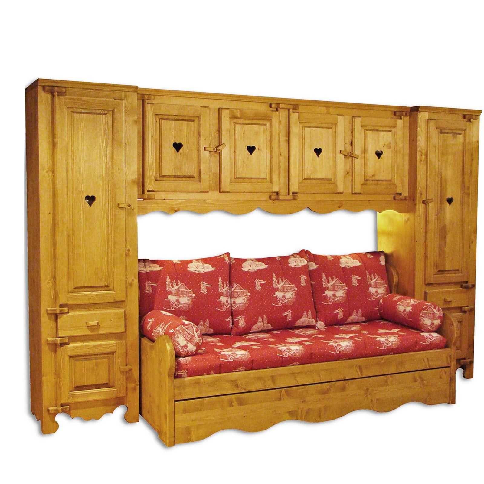 meuble pont en bois livraison gratuite