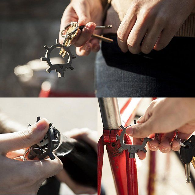 Ringtool Multi-Tool Keychain | Father's Day gift