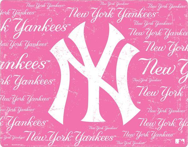 New York Yankees - Pink Cap Logo Blast