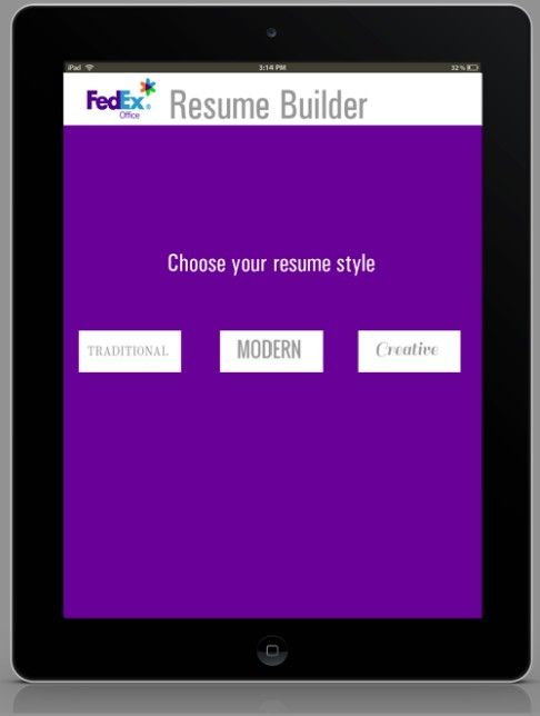 FXO free resume app will help take the stress out of applying for - resume app