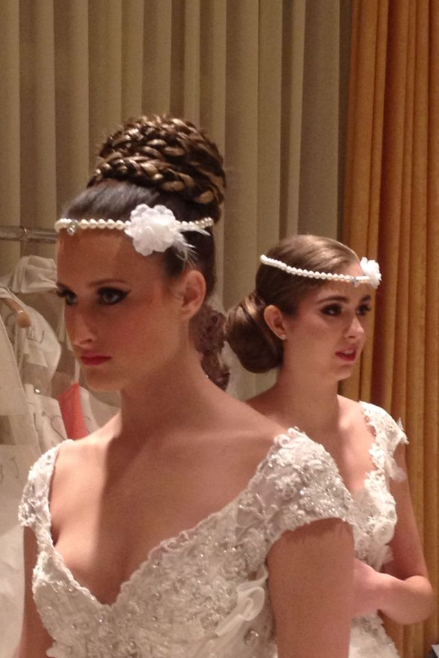 Hair done by fadia georgees