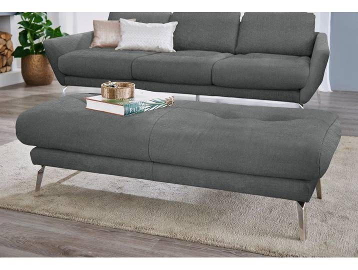 W Schillig Hocker Softy Blau Stoff Home Decor Furniture Sofa