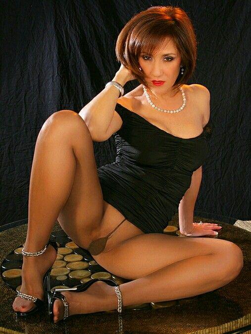 open Women legs in stockings