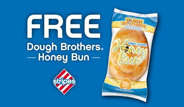 FREE Jumbo Glazed Honey Bun at Stripes Stores (US only