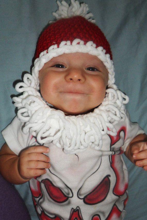 Baby Santa Hat | Crochet Me | Pinterest | Para bebes, Gorros y Ganchillo