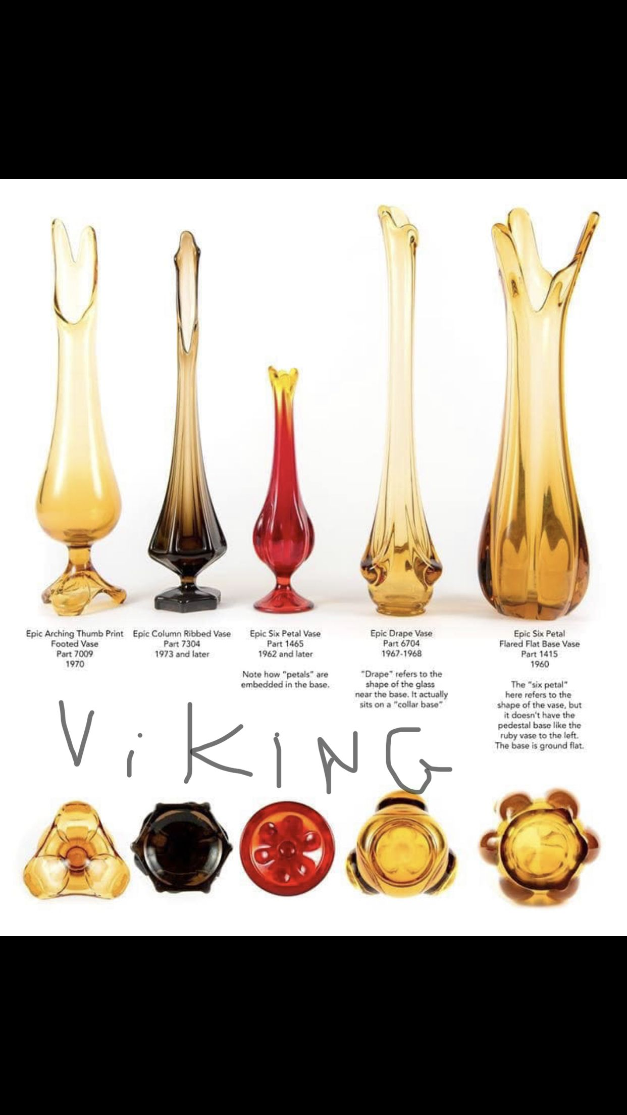 Pin By Theresa Maxwell On Glass Viking Glass Antique Glass Vintage Glassware