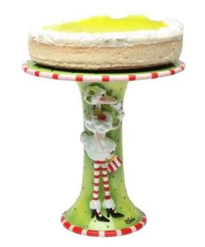 Ruby S Collection Cake Stand Comprising Plate Amp Vase