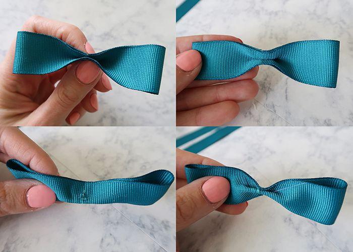 c23746f78c9b DIY Ribbon Bow Flip Flops