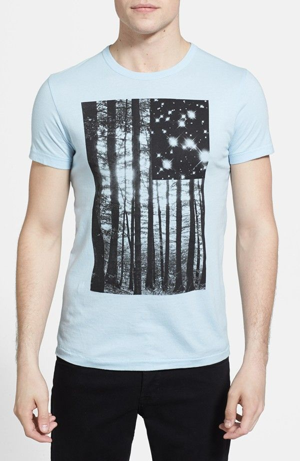 811de8a5ca2 French Connection 'Tree Stars' Slim Fit Graphic T-Shirt | tees/trend ...