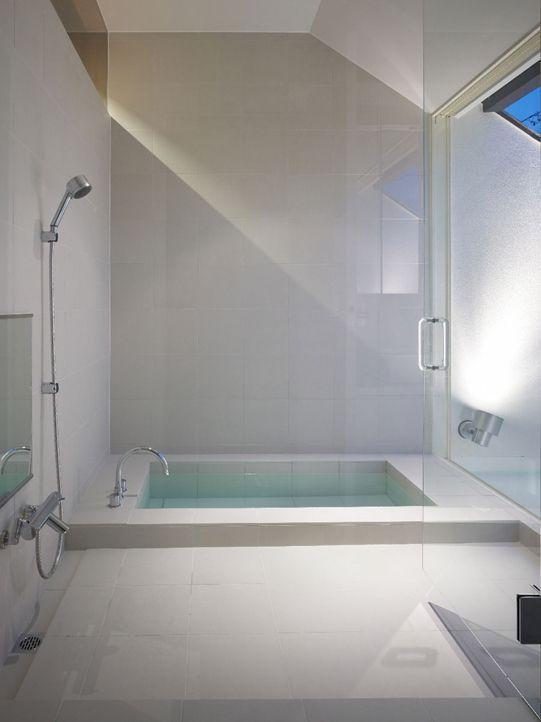 Dekoration Badezimmer · Minimalist Bathroom Of House In Japan