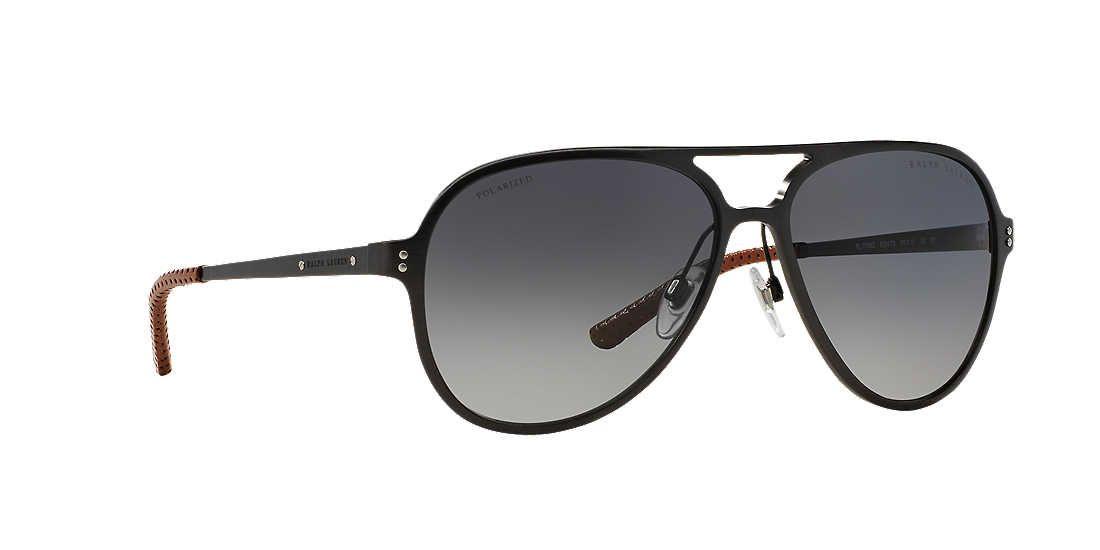 38ead3d0d525 Ralph Lauren RL7049Q 60 60 Grey   Gunmetal Polarized Sunglasses ...