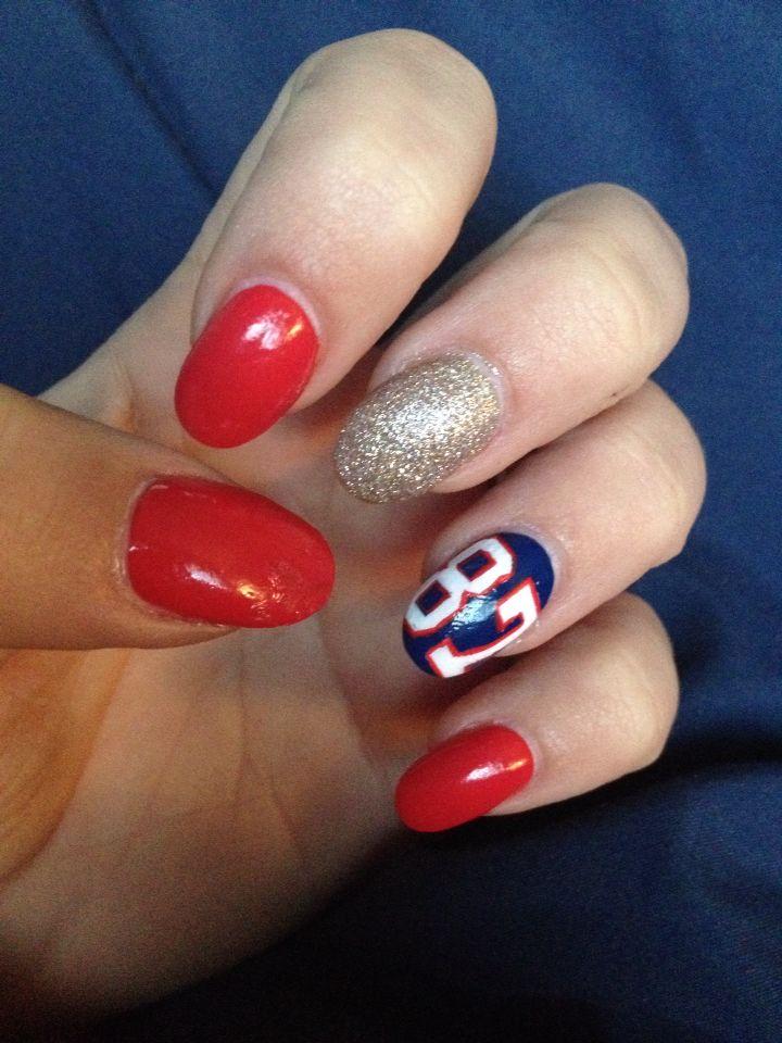 New England patriot nails!! | Randommmm. | Pinterest | England ...