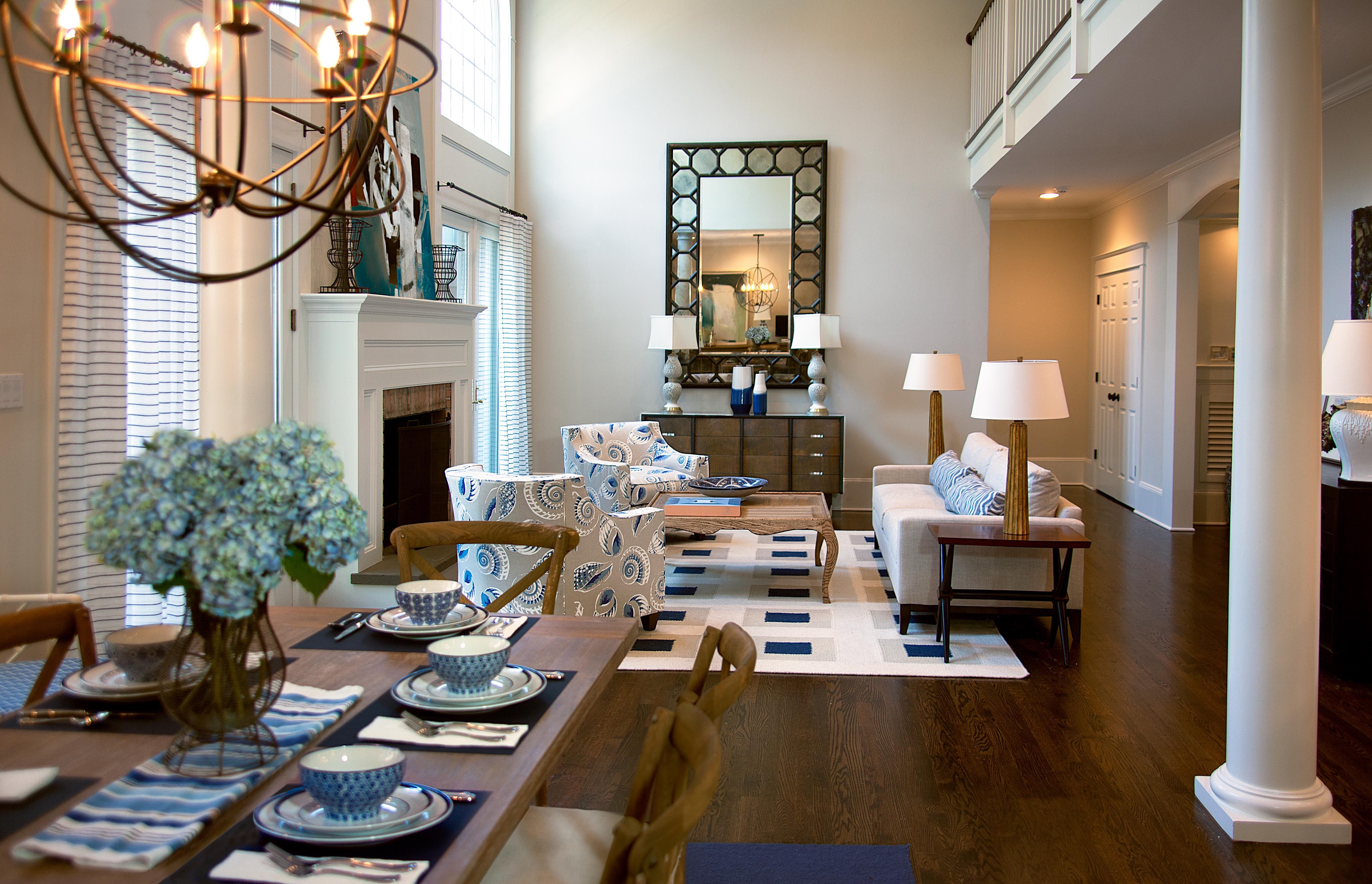 People here are friendlier and smile m. 25 Open Plan Living & Dining Room Designs - Chairish Blog ...
