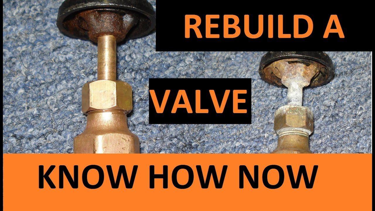 Rebuild Water Shut Off Valve Youtube Bottle Opener Wall Valve Replace Washer