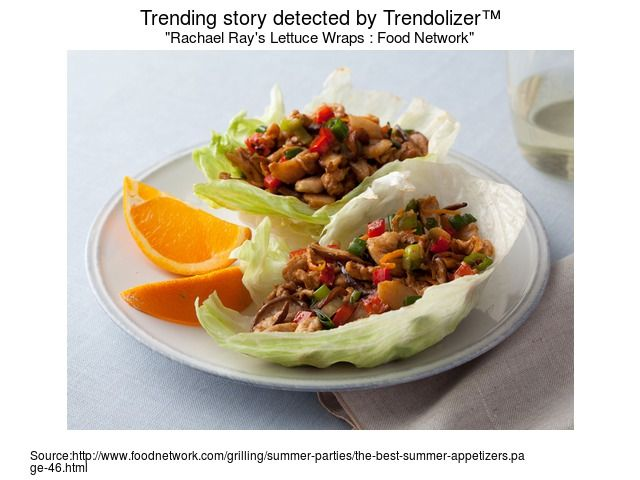 Rachael Ray's Lettuce Wraps : Food Network