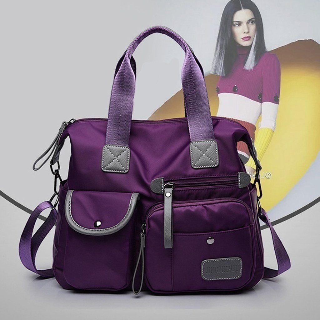 53834c0dc62a Women New Oxford Cloth Shoulder Bags Waterproof Nylon Messenger Bag Female  Large Capacity Crossbody Bags
