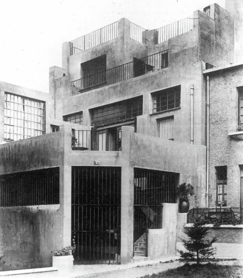 adolf loos haus tristan tzara paris 1926 adolf loos pinterest architektur bauhaus. Black Bedroom Furniture Sets. Home Design Ideas