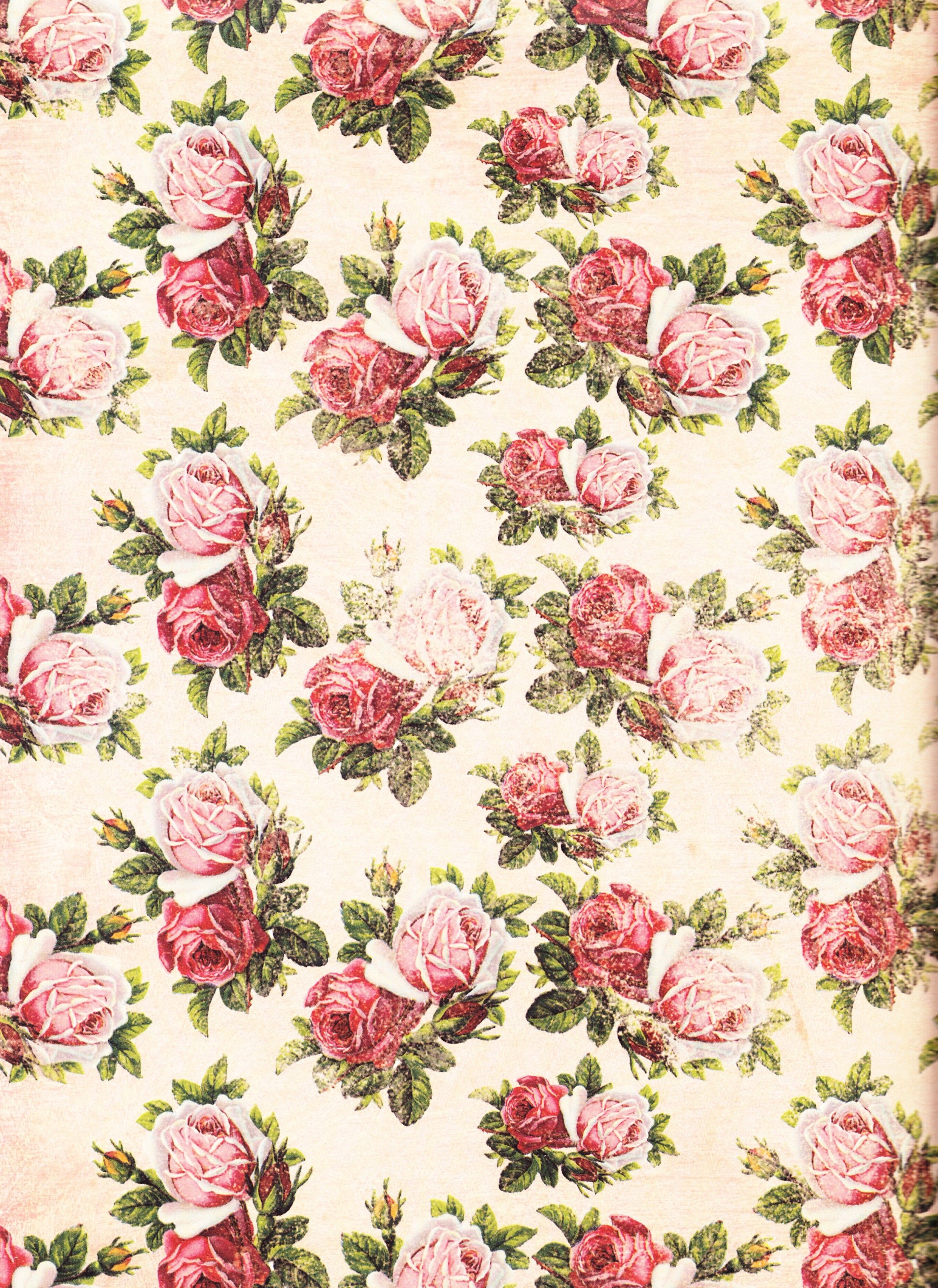 wallpapers Country romantic shabby chic Pinterest