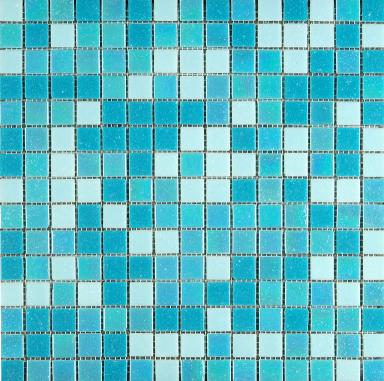 "Kollektion Mosaikwelten, ""METALIC-MIX-Hellblau"""