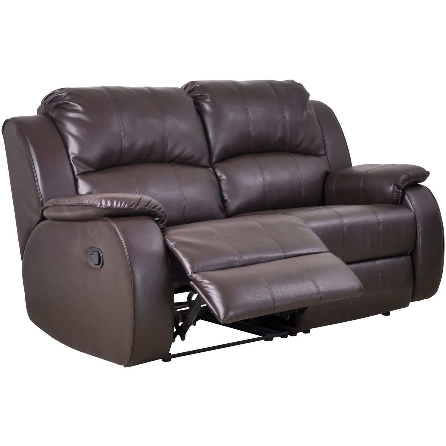 Milano Recliner Leather 3 Seater + 2 Seater Sofa Suite Set