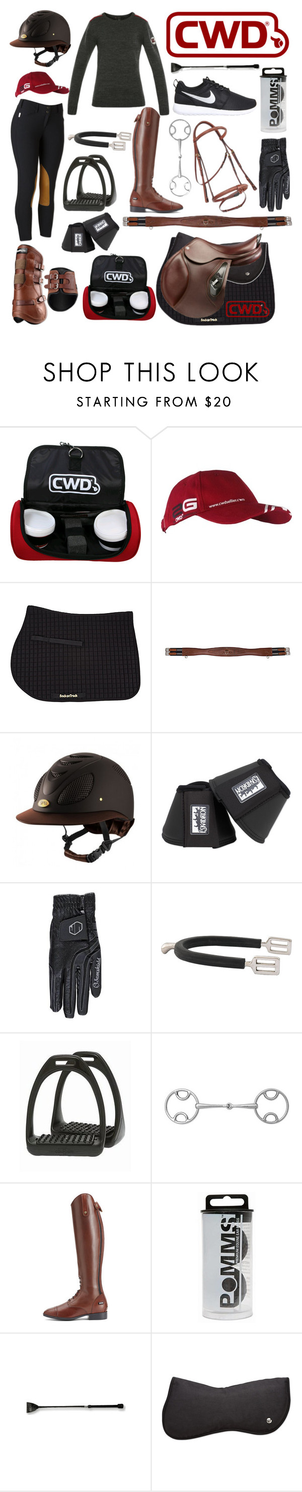 """""""cwd themed outfit"""" by a-circuit-equestrian ❤ liked on Polyvore featuring INC International Concepts, Ariat and NIKE"""