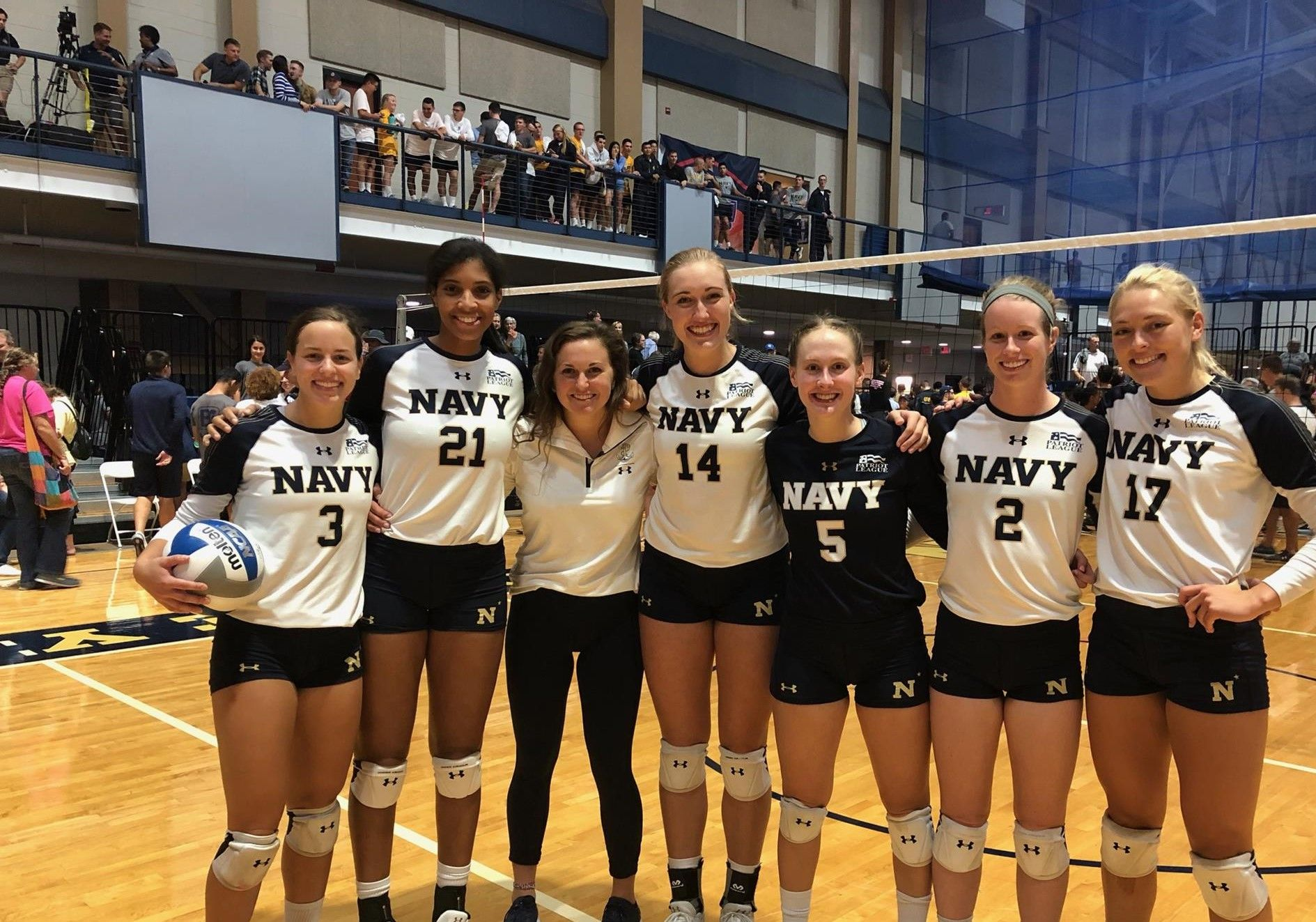 Katie Patrick Women S Volleyball Naval Academy Athletics Women Volleyball Patriot League Volleyball