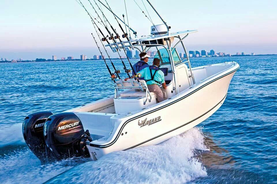 Saltwater fishing in florida mako boats fishing for Offshore fishing boat manufacturers