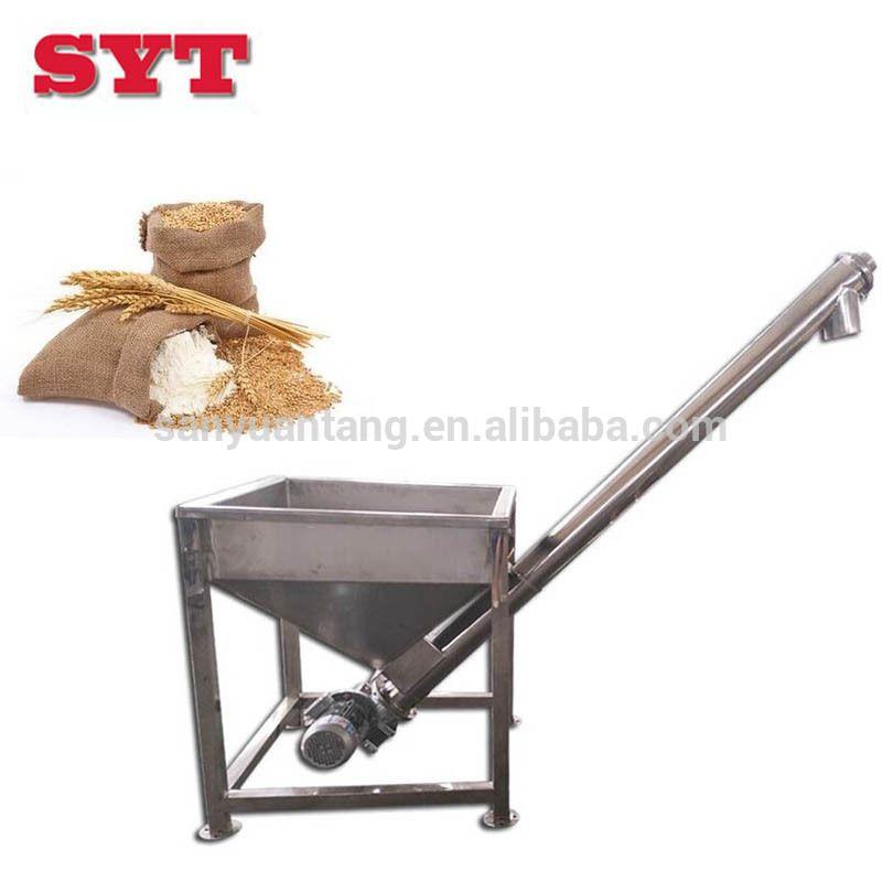 Stainless steel grain screw feeder conveyor,small grain