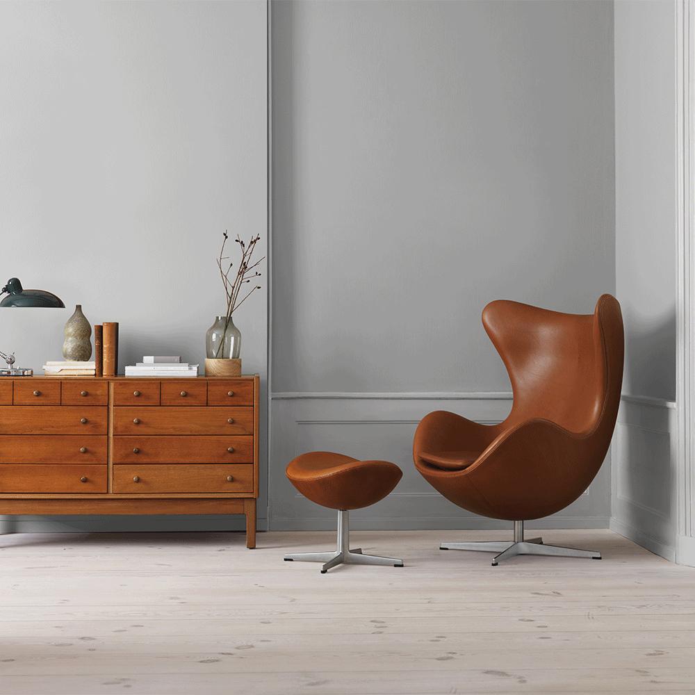 Egg Lounge Chair In 2020 Egg Chair Arne Jacobsen Egg Chair Furniture