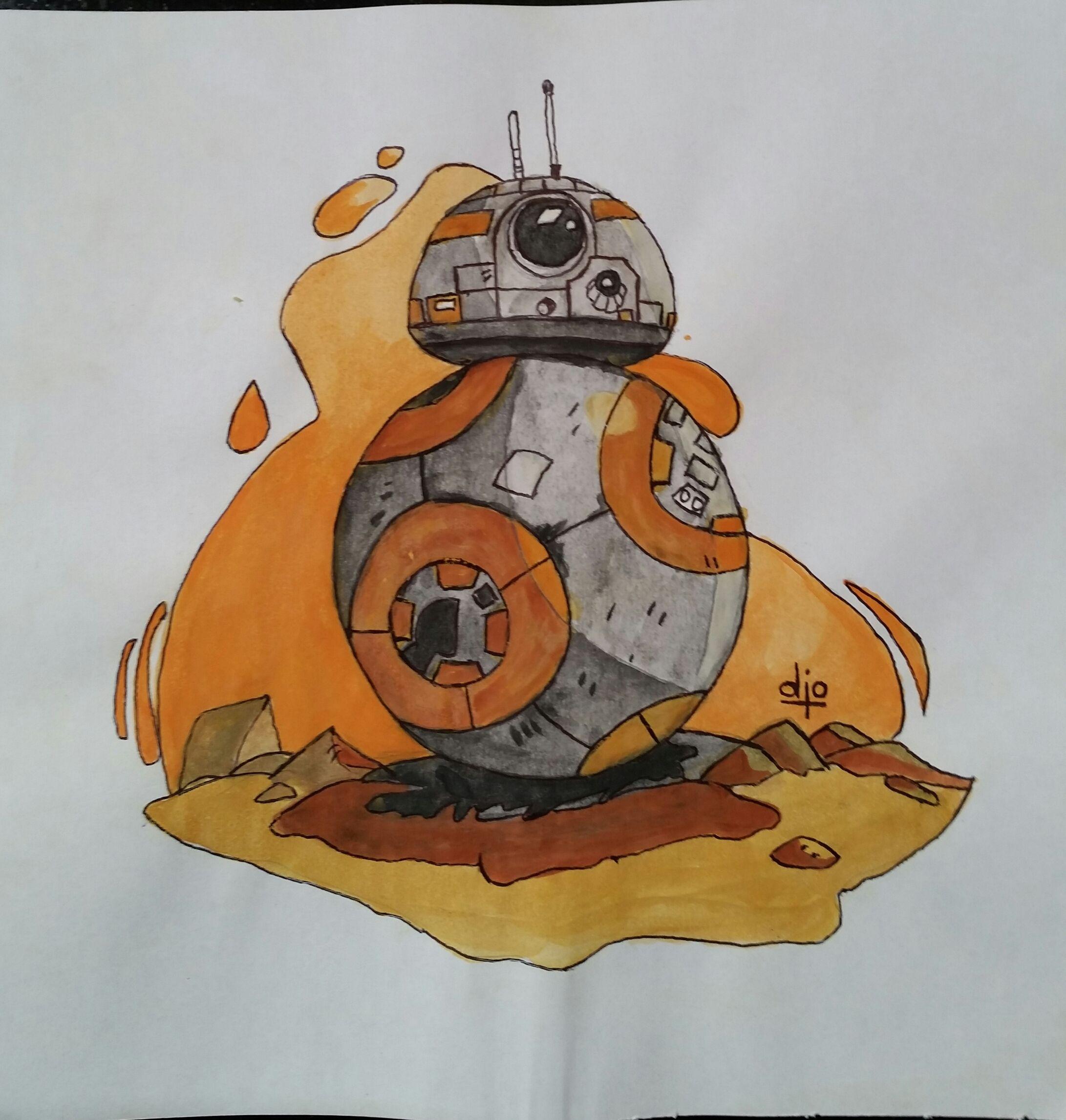 BB2, cuando lo vi me dije: este lo tengo que dibujar!