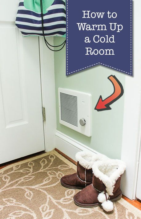 Warm Solution for a Cold Room | Diy wall shelves, Diy ...