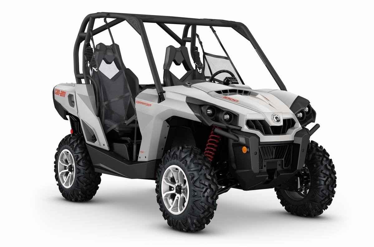 New 2016 Can-Am COMMANDER ATVs For Sale in Pennsylvania. 2016 Can-Am COMMANDER DPS 1000, Get the flexibility to customize your machine the way you want it, with the control of the Tri-Mode Dynamic Power Steering (DPS).HighlightsRotax® V-twin engine optionsTri-Mode Dynamic Power Steering (DPS)Visco-Lok® QE auto-locking front differentialDouble A-arm front suspension with dive-control geometryTorsional Trailing arm Independent rear suspension (TTI) with external sway barIntelligent Throttle…