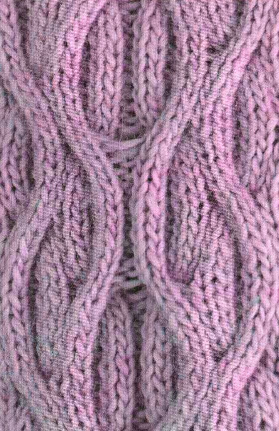 Reversible Cable Knitting Stitch   Pinterest   Puntadas, Dos agujas ...