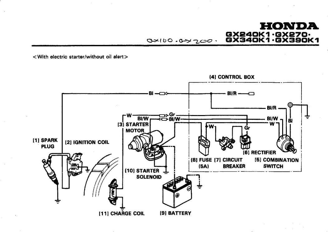 17  Honda Gx390 Engine Wiring Diagram