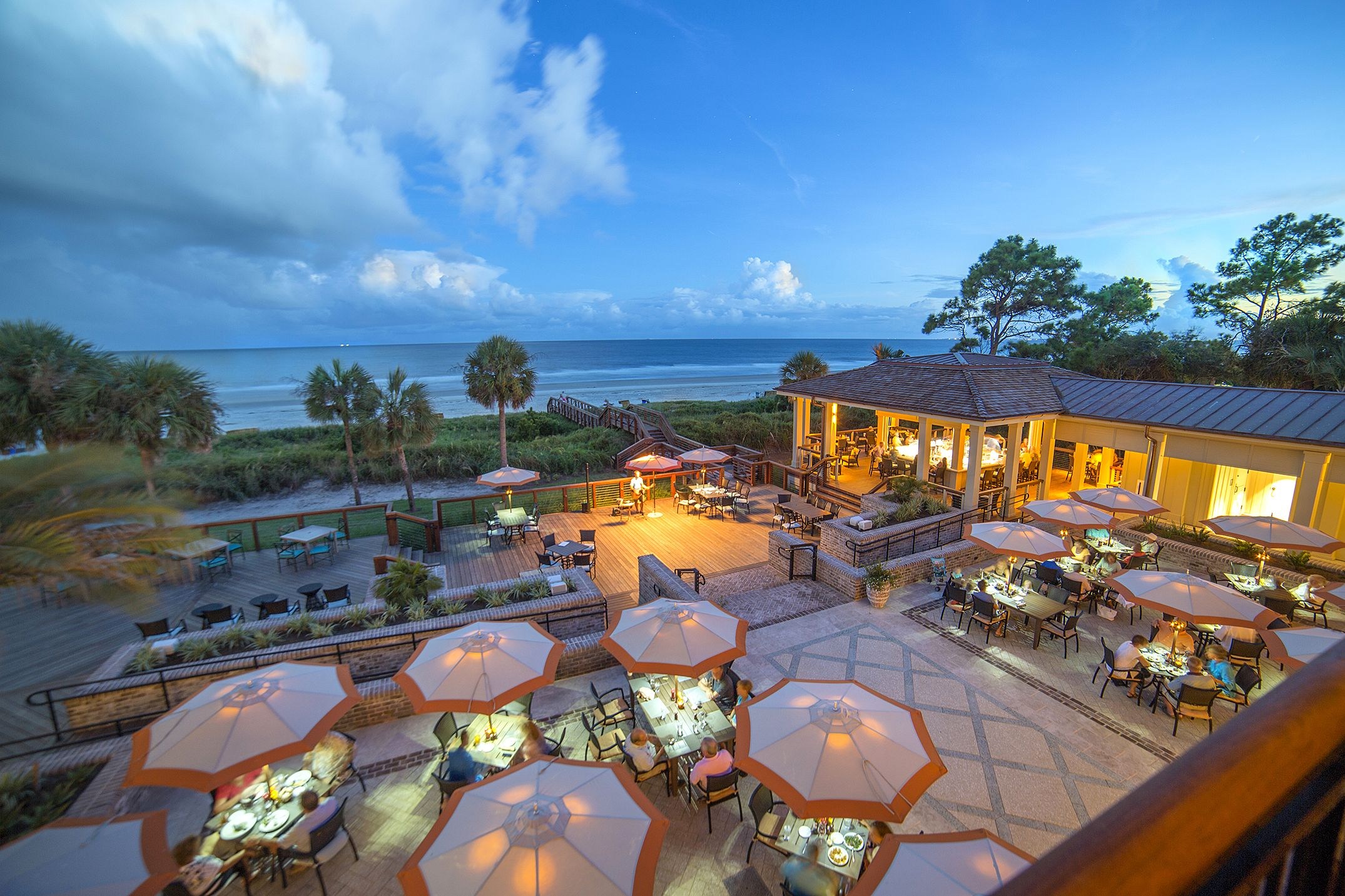 The Best Outdoor Dining Restaurants In America According To Opentable Coast Hilton Head Island South Carolina