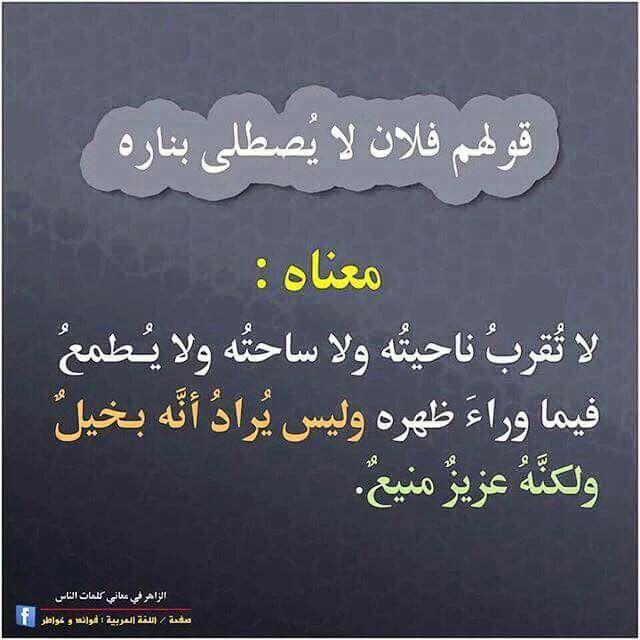 Pin By Lina Mansour On اللغة العربية Beautiful Arabic Words Arabic Language Learn Arabic Language